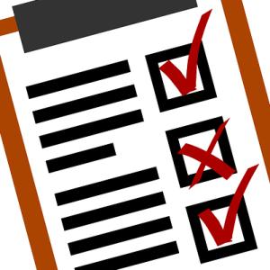 conferir e organizar corrida com checklist