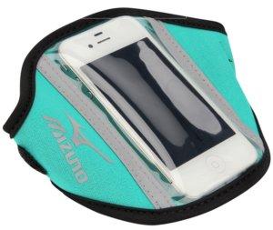 Braçadeira celular mizuno para correr