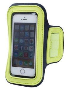braçadeira para carregar celular na corrida