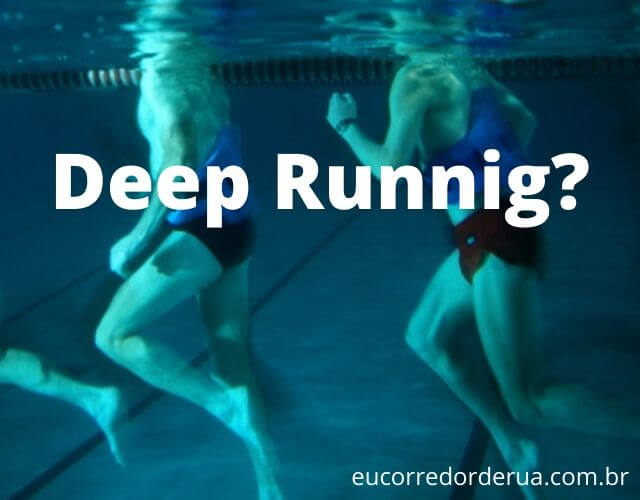 deep running correr na água